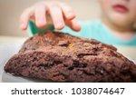 child hand reaching for...   Shutterstock . vector #1038074647