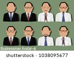 businessman avatar with...   Shutterstock .eps vector #1038095677