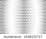 abstract halftone wave dotted... | Shutterstock .eps vector #1038151717