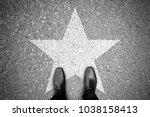 business concept. businessman...   Shutterstock . vector #1038158413
