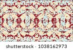 multicolored abstraction in the ... | Shutterstock . vector #1038162973