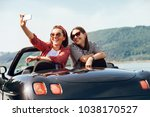 two female freinds take a...   Shutterstock . vector #1038170527