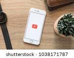 chiang mai  thailand   mar 04... | Shutterstock . vector #1038171787