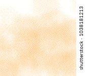 orange yellow watercolor mesh... | Shutterstock .eps vector #1038181213