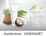design cosmetics product... | Shutterstock .eps vector #1038241087