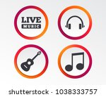 musical elements icons. musical ... | Shutterstock .eps vector #1038333757