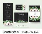 wedding menu  details...   Shutterstock .eps vector #1038342163