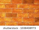 brick 0ld concrete wall mixed... | Shutterstock . vector #1038408973
