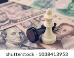 us and china finance trade war... | Shutterstock . vector #1038413953