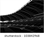Football Soccer Stadium Vector 16 - stock vector