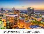 orlando  florida  usa downtown... | Shutterstock . vector #1038436003