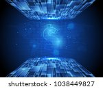 world's business and advanced...   Shutterstock .eps vector #1038449827