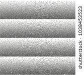 random striped halftone.... | Shutterstock .eps vector #1038453523
