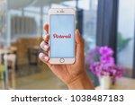 chiang mai  thailand   mar 02... | Shutterstock . vector #1038487183