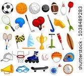 easy to edit vector... | Shutterstock .eps vector #1038489283