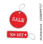 red grunge sale and discount... | Shutterstock .eps vector #1038499717