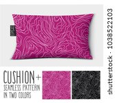 design vector pillow  cushion . ...   Shutterstock .eps vector #1038522103