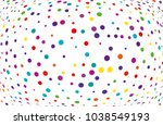 festival pattern with color... | Shutterstock .eps vector #1038549193
