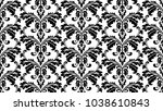 floral pattern. wallpaper... | Shutterstock . vector #1038610843
