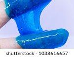 slime  alien drool  or shell... | Shutterstock . vector #1038616657