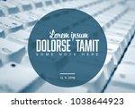 vector social media post... | Shutterstock .eps vector #1038644923