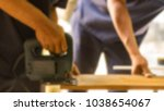 two men cutting wood with...   Shutterstock . vector #1038654067