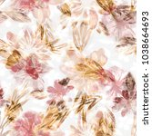 Field Flowers Seamless Pattern...