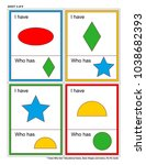 educational math game for kids  ... | Shutterstock .eps vector #1038682393