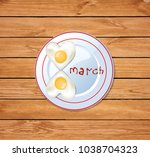 happy women's day vector...   Shutterstock .eps vector #1038704323