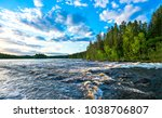 forest river water landscape | Shutterstock . vector #1038706807