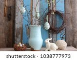 Easter Composition With...
