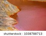 the amazing unusual red bloody... | Shutterstock . vector #1038788713