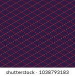 isometric grid. vector seamless ... | Shutterstock .eps vector #1038793183
