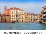 venice  italy   january 06 ... | Shutterstock . vector #1038805477