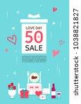 anniversary event popup | Shutterstock .eps vector #1038821827