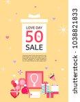 anniversary event popup | Shutterstock .eps vector #1038821833