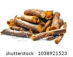 close up of ayurvedic herb... | Shutterstock . vector #1038921523