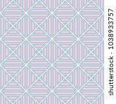 geometric seamless pattern.... | Shutterstock .eps vector #1038933757