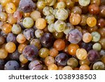 colorful mixed grapes before... | Shutterstock . vector #1038938503