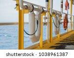 coriolis flow meter or mass... | Shutterstock . vector #1038961387