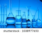 science concept. chemical... | Shutterstock . vector #1038977653