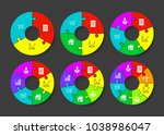 three  four  five  six  seven ... | Shutterstock .eps vector #1038986047