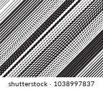 grunge white and black stripes. ... | Shutterstock .eps vector #1038997837