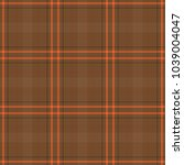tartan traditional checkered... | Shutterstock .eps vector #1039004047