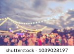 vintage tone blur image of food ... | Shutterstock . vector #1039028197