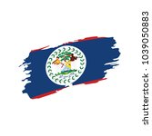 belize flag  vector illustration | Shutterstock .eps vector #1039050883