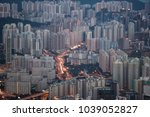 close up top of building as... | Shutterstock . vector #1039052827