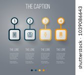 icon line appliance set of... | Shutterstock .eps vector #1039086643