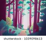 cartoon illustration background ...   Shutterstock .eps vector #1039098613