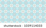 decorative abstract pattern | Shutterstock . vector #1039114033